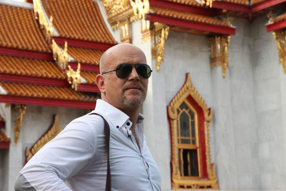 In geheimer Mission in Thailand unterwegs: Peter Giesel ... - Bildquelle: kabel eins