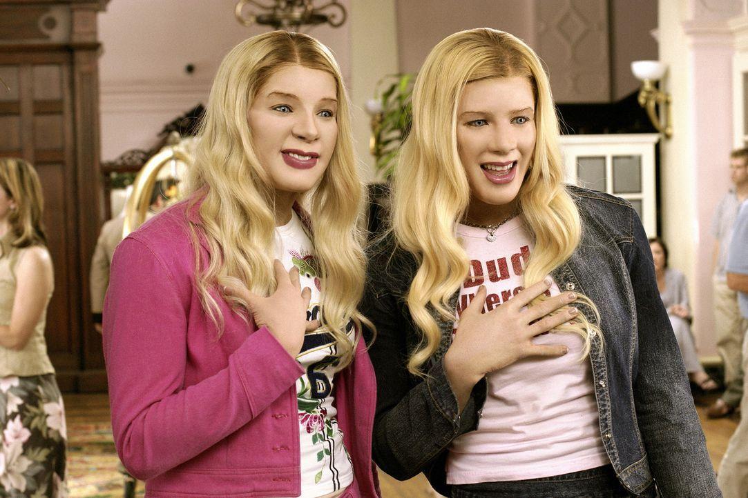 Als zwei verwöhnte Society-Zicken, die Milliardärs-Töchter Brittany und Tiffany Wilson, entführt werden sollen, beschließen die wenig erfolgrei... - Bildquelle: Sony Pictures Television International. All Rights Reserved.