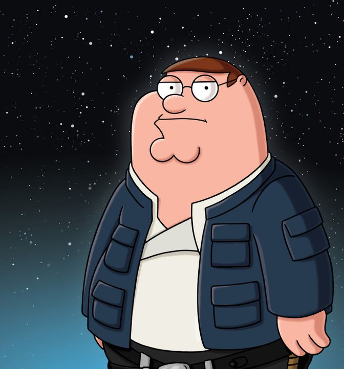 """Peter erzählt die Star Wars Saga """"Das Imperium schlägt zurück"""" à la Family Guy: Peter als Han Solo - Bildquelle: 2007-2008 Twentieth Century Fox Film Corporation. All rights reserved."""