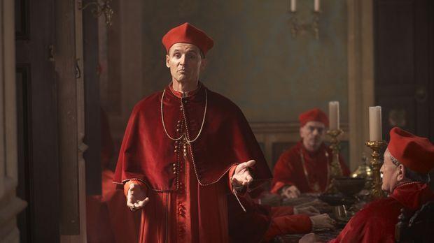 Als der Papst und Giulia bei einem intimen Zusammensein von einem Dienstmädch...