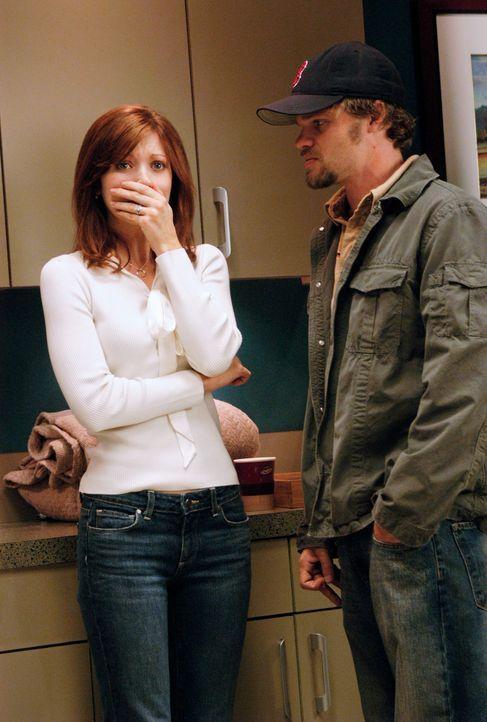 Alison (Elizabeth Bogush, l.) gibt sich die Schuld an dem Unfall von Sam. Selbst Ikey (Evan Jones, r.) kann sie nicht beruhigen ... - Bildquelle: 2007 American Broadcasting Companies, Inc. All rights reserved.