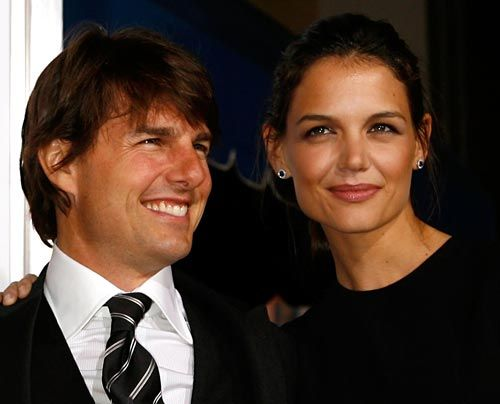 Bildergalerie Tom Cruise und Katie Holmes | Frühstücksfernsehen | Sat.1 Ratgeber & Magazine - Bildquelle: getty - AFP