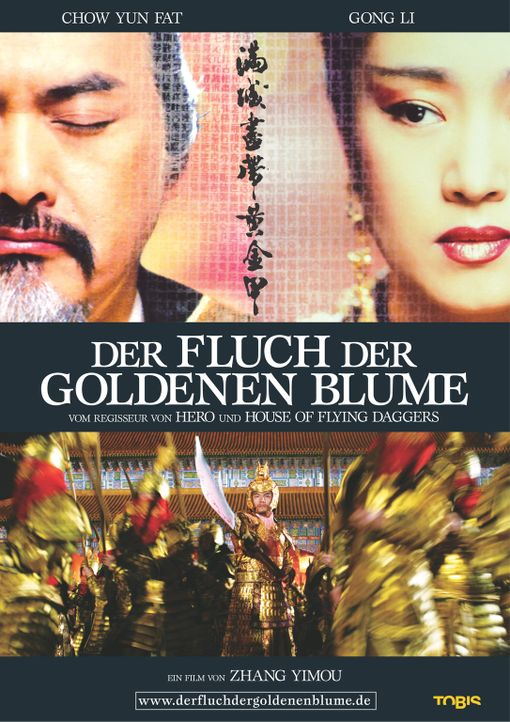 Der Fluch der goldenen Blume - Plakatmotiv - Bildquelle: TOBIS Film