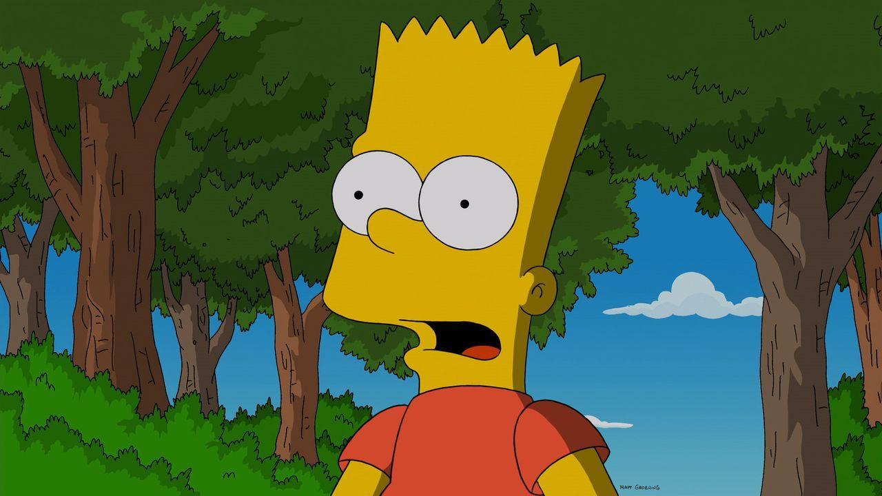 Bart gewinnt das diesjährige Schulwettrennen, doch seinen Sieg hat er nur einem gemeinen Angriff auf seinen Freund Milhouse zu verdanken ... - Bildquelle: 2014 Twentieth Century Fox Film Corporation. All rights reserved.