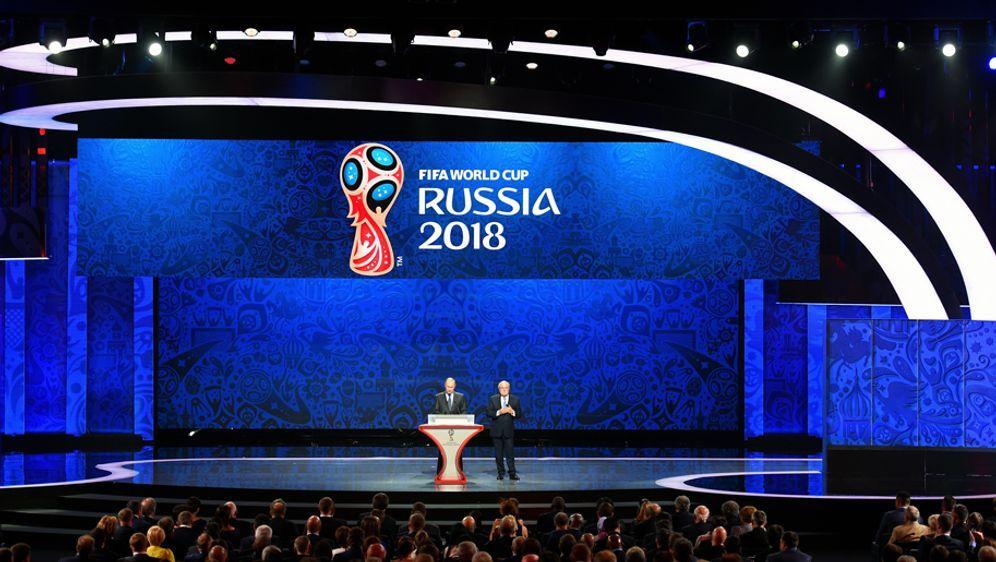Die Auslosung der Gruppen für die WM-Endrunde 2018 fand am 1. Dezember 2017 ... - Bildquelle: 2015 Getty Images