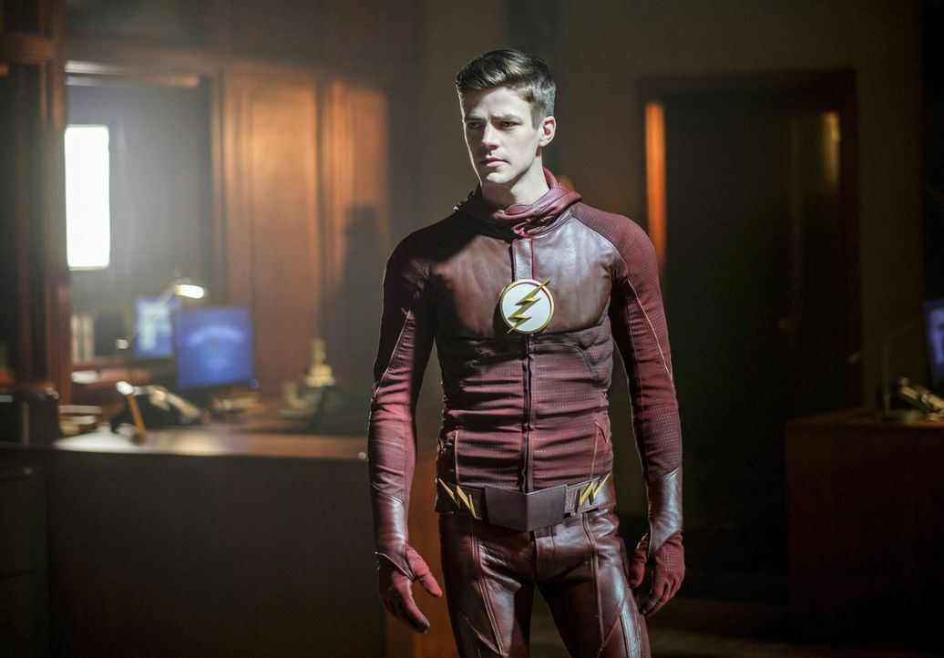 Barry alias The Flash (Grant Gustin) hat sich vorgenommen, alles zu tun, um Wally aus der Speed Force zu retten, doch seine Freunde müssen sich erst... - Bildquelle: 2016 Warner Bros.