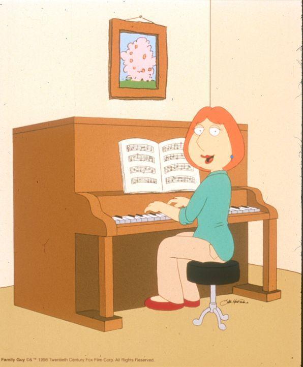 (2. Staffel) - Zum Wohle der restlichen Familie spielt Mutter Lois mit viel Liebe Klavier. - Bildquelle: TM +   1998 Twentieth Century Fox Film Corp. All Rights Reserved.