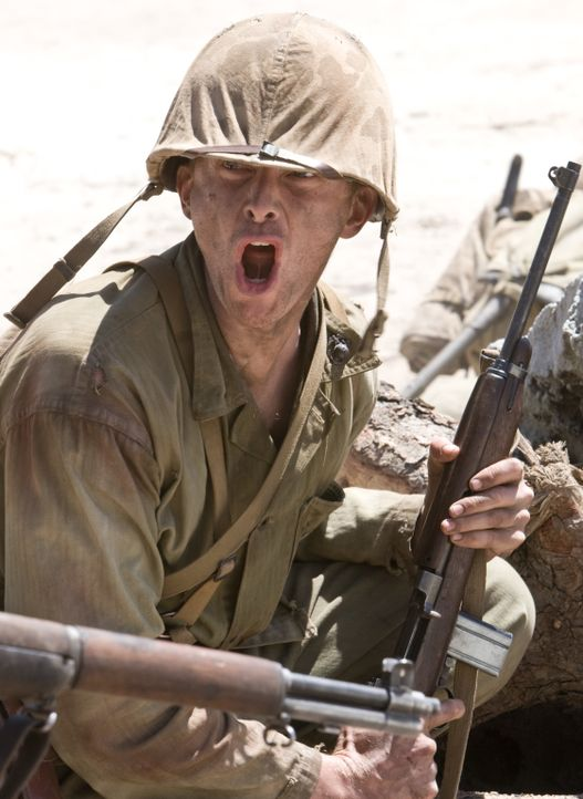 "Als klar wird, dass die Japaner bis zum letzten Mann kämpfen werden, ziehen Lt. Edward ""Hillbilly"" Jones (Leon Ford) und seine Kameraden auf Peleliu... - Bildquelle: Home Box Office Inc. All Rights Reserved."