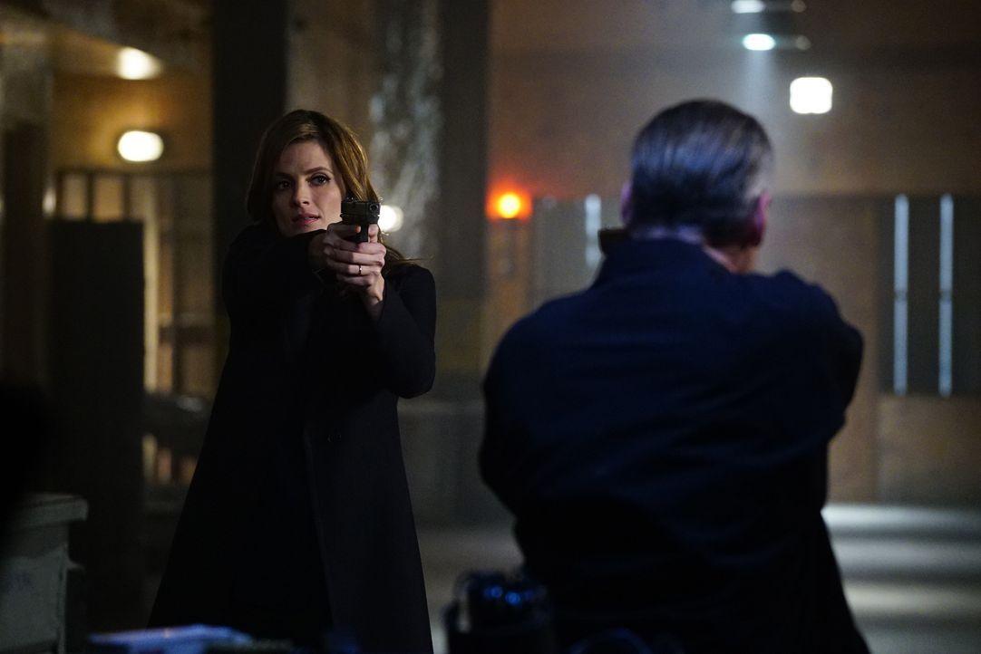 Ihr neuster Fall führt Beckett (Stana Katic) zu einem Gangsterboss, dessen Tochter und einem korrupten Offizier ... - Bildquelle: Richard Cartwright 2016 American Broadcasting Companies, Inc. All rights reserved.