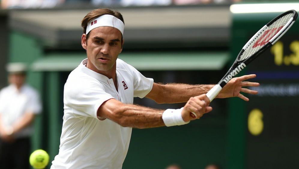 Roger Federer marschiert in das Viertelfinale - Bildquelle: AFPSIDOLI SCARFF