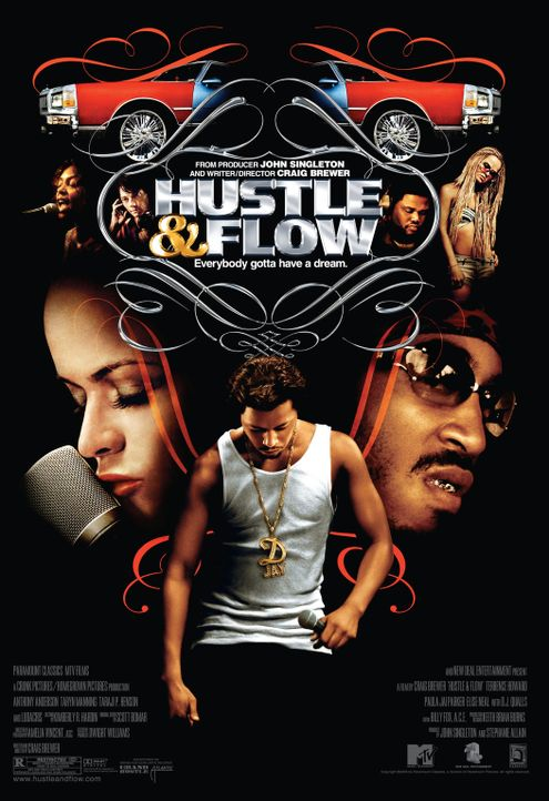 """Hustle & Flow"" - Plakatmotiv - Bildquelle: 2005 by PARAMOUNT PICTURES. All Rights Reserved."