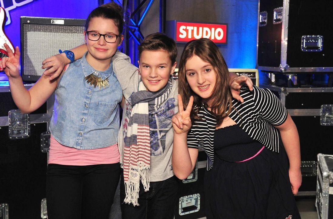 The-Voice-Kids-Stf02-Epi06-Simon-Patrizia-Helena-152-SAT1-Andre-Kowalski - Bildquelle: SAT.1/Andre Kowalski