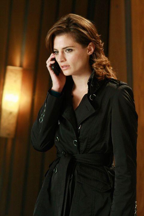 Erhält einen wichtigen Hinweis: Kate Beckett (Stana Katic) - Bildquelle: ABC Studios