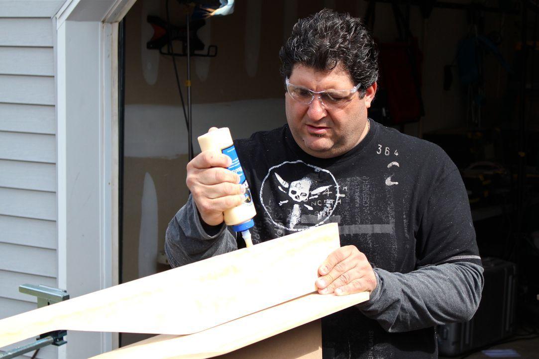 Wenn echte Kerle ihren eigenen Rückzugsort im Haus benötigen, sind Tony Siragusa (Bild) und Jason Cameron zur Stelle und bauen originelle Männerreic... - Bildquelle: DIY Network/Scripps Networks, LLC. All Rights Reserved.
