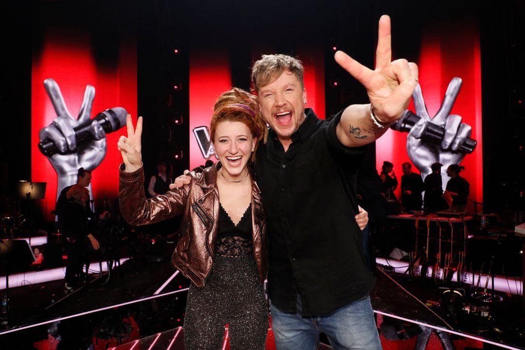 Natia Todua gewinnt The Voice of Germany 2017 - Bildquelle: SAT.1/ProSieben/Richard Hübner