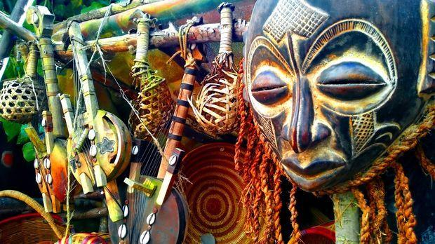 Afrika Deko Frs Wohnzimmer Einrichten Im Ethno Stil