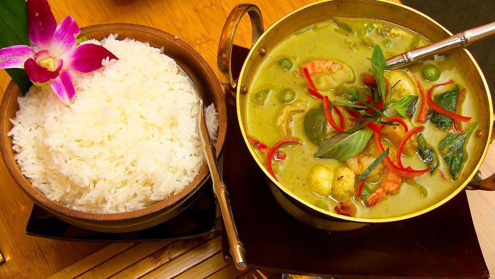 Grünes Thai-Curry