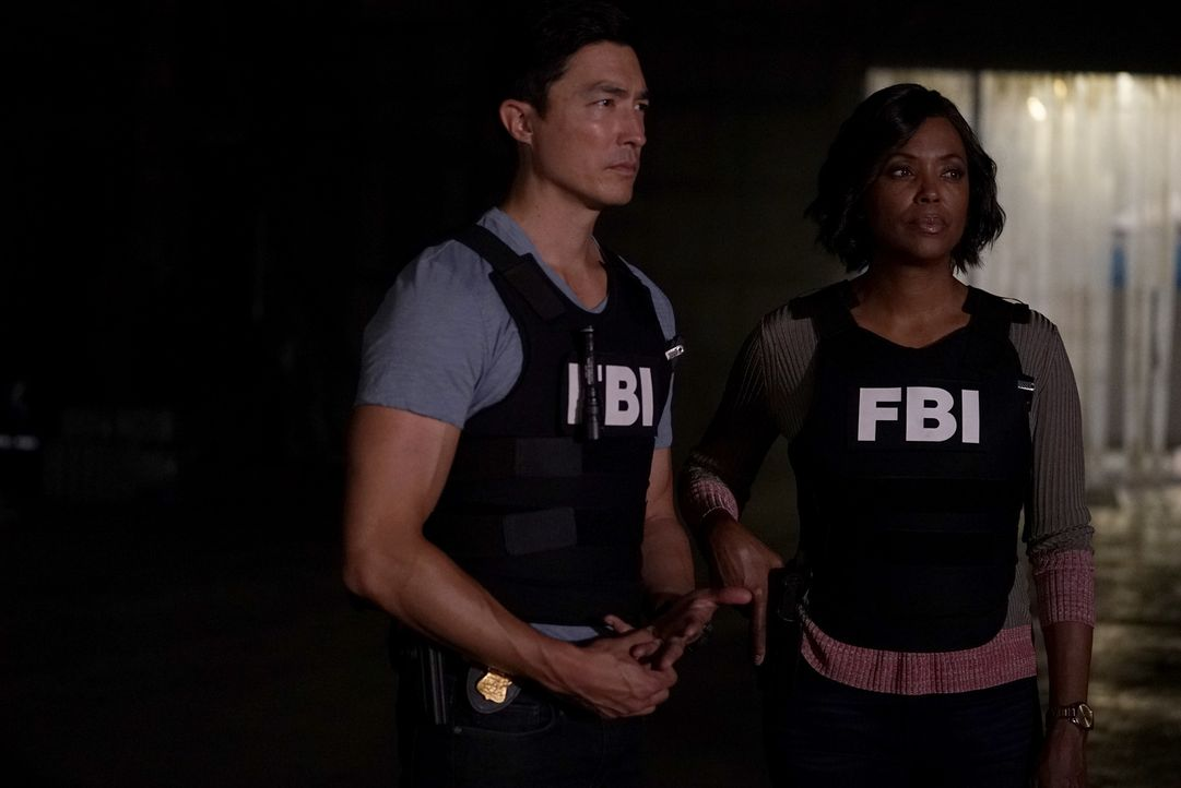(v.l.n.r.) Matthew Simmons (Daniel Henney); Dr. Tara Lewis (Aisha Tyler) - Bildquelle: Cliff Lipson 2006 Touchstone Television. All rights reserved. NO ARCHIVE. NO RESALE./Cliff Lipson