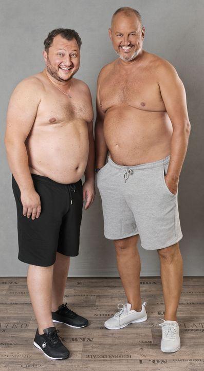 1_Frank und Sebastian vorher - Bildquelle: Willi Weber, kabel eins