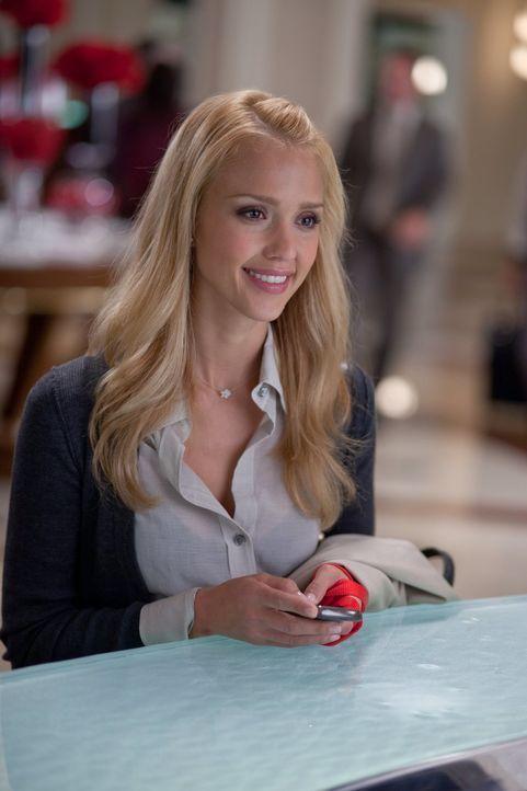 Dieser Valentinstag sollte der schönste in ihrem Leben werden, doch Morley Clarkson (Jessica Alba) beginnt plötzlich, an der Liebe zu Reed zu zweife... - Bildquelle: 2010 Warner Bros.