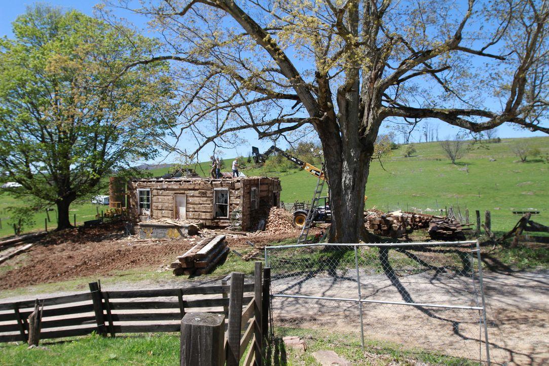 Das charmante Handwerker-Team aus West Virginia restauriert zu Ehren seiner Vorfahren die ältesten und schönsten Scheunen und Häuschen Amerikas und... - Bildquelle: 2015, DIY Network/Scripps Networks, LLC. All Rights Reserved.