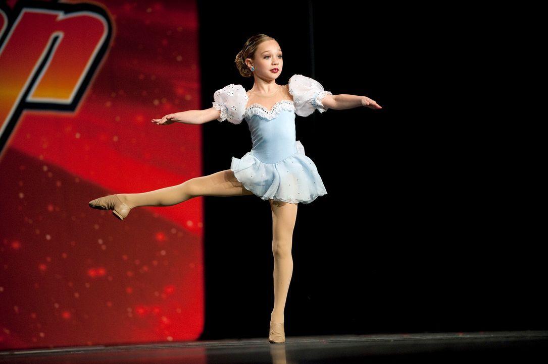 Wird Maddie dem Druck standhalten und ihr Solo fehlerfrei tanzen? - Bildquelle: 2011 A&E Television Networks, LLC. All rights reserved.