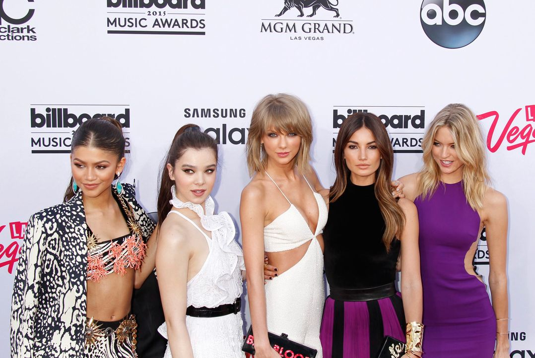 Billboard-Awards-150517-Zendaya-Steinfeld-Swift-Aldridge-Hunt-05-dpa - Bildquelle: dpa