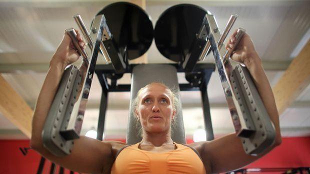 Bodybuilding-Frau-dpa