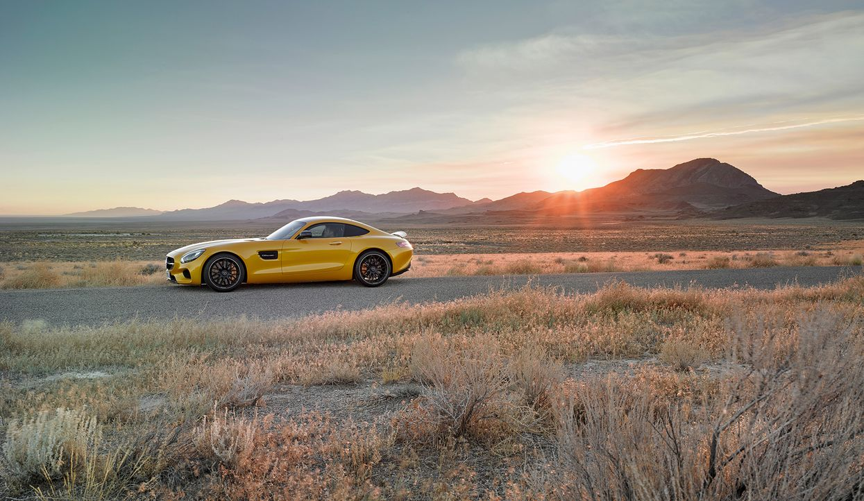 Mercedes AMG GT (10) - Bildquelle: press photo, do not use for advertising purposes