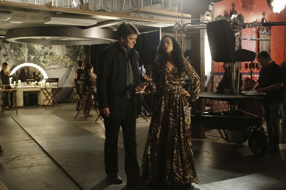 Als eine junge Schauspielerin ermordet wird, die bei einer Telenovela als Darstellerin engagiert war, wird Beckett und ihre Kollegen in einen Fall v... - Bildquelle: ABC Studios