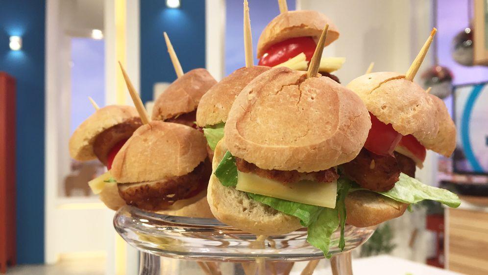 Miniburger-Spieße
