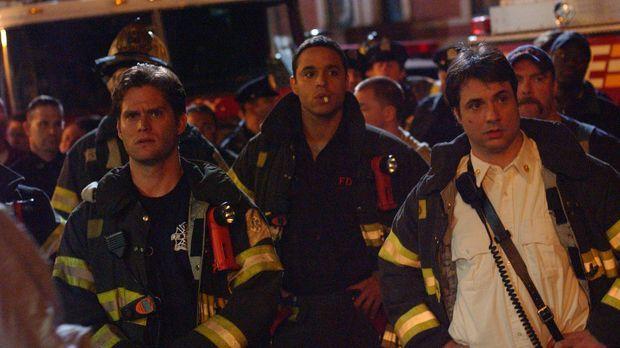 Obwohl Paulie (David Vadim, r.), Franco (Daniel Sunjata, M.) und Sean (Steven...