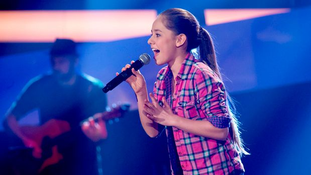 The Voice Kids - The-Voice-Kids-s01e01-Olivia-061 - Bildquelle: SAT.1/Richard...