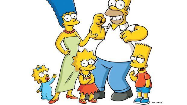 (21. Staffel) - Die Simpsons sind eine nicht alltägliche Familie: (v.l.n.r.)...