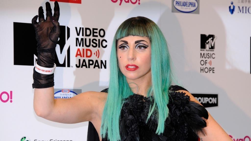 Platz 2: Lady Gaga - Bildquelle: dpa