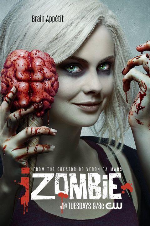 (1. Staffel) - iZOMBIE - Plakatmotiv - Bildquelle: 2014 Warner Brothers