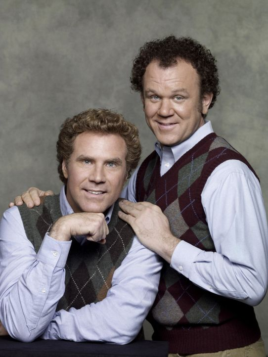 "Trotz ihrer bereits doppelten Volljährigkeit sind die verwöhnten ""Jungen"" Brennan (Will Ferrell, l.) und Dale (John C. Reilly, r.) noch lange nich... - Bildquelle: 2008 Columbia Pictures Industries, Inc. and Beverly Blvd LLC. All Rights Reserved."