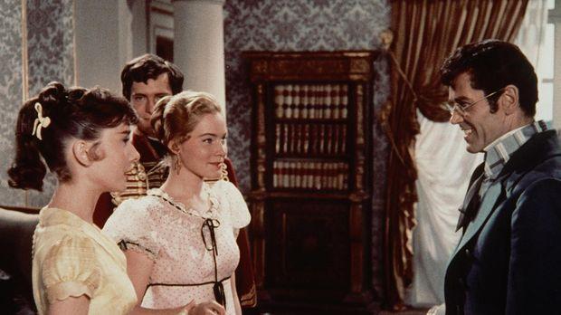 Liebe auf den ersten Blick: Als man Pierre Besukow (Henry Fonda, r.) die jung...