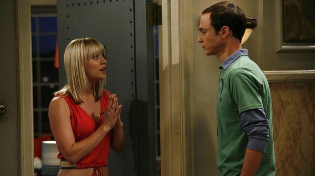 Erstmals essen Leonard und Sheldon (Jim Parsons, r.) sowie Howard und Raj in...