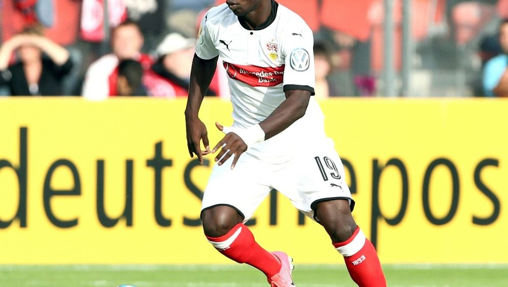 Chadrac Akolo erzielt den Siegtreffer für den VfB - Bildquelle: PIXATHLONPIXATHLONSID