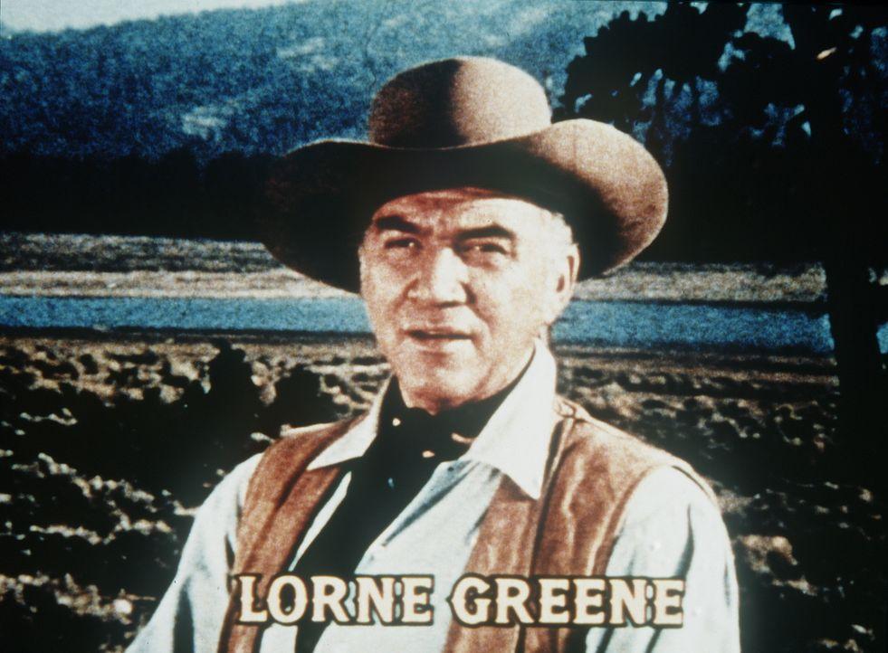 Auf der Ponderosa-Ranch in der Nähe von Virginia City/Nevada leben die Cartwrights: Der Witwer Ben Cartwright (Lorne Greene) und seine drei Söhne Ad... - Bildquelle: Paramount Pictures