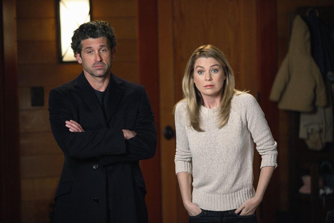 Bekommen überraschend Besuch von Amelia: Derek (Patrick Dempsey, l.) und Meredith (Ellen Pompeo, r.) ... - Bildquelle: ABC Studios