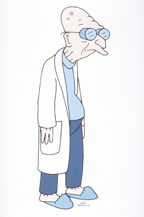 (2. Staffel) - Prof. Hubert Farnsworth ist mit mindestens 120 Jahren der älteste Wissenschaftler im 31. Jahrhundert. - Bildquelle: und TM Twenthieth Century Fox Film Corporation - Alle Rechte vorbehalten