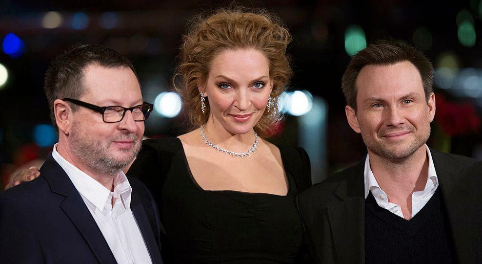 Berlinale-Lars-von-Trier-Uma-Thurman-Christian-Slater-140209-AFP - Bildquelle: AFP