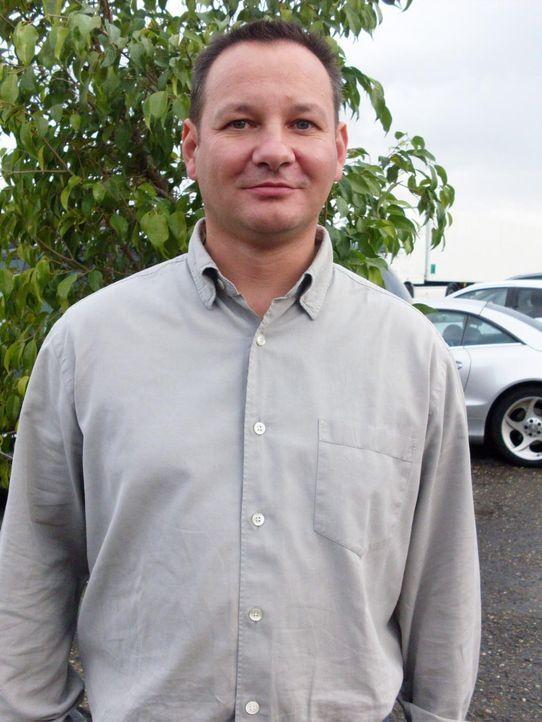 """Frank (Bild) ist Chef des vermutlich ältesten Autohofs Deutschlands. Im """"Herz'l"""" arbeitet er gemeinsam mit seiner Frau Jana (36) seit anderthalb Jah... - Bildquelle: kabel eins"""