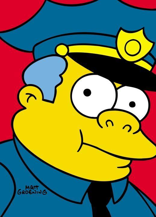 (12. Staffel) - Der Polizeichef Wiggum sorgt in Springfield für Recht und Ordnung ... - Bildquelle: und TM Twentieth Century Fox Film Corporation - Alle Rechte vorbehalten