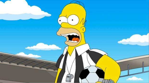 Homer, der Held: Nachdem Lisa einen Vortrag über ihren Vater gehalten und onl...