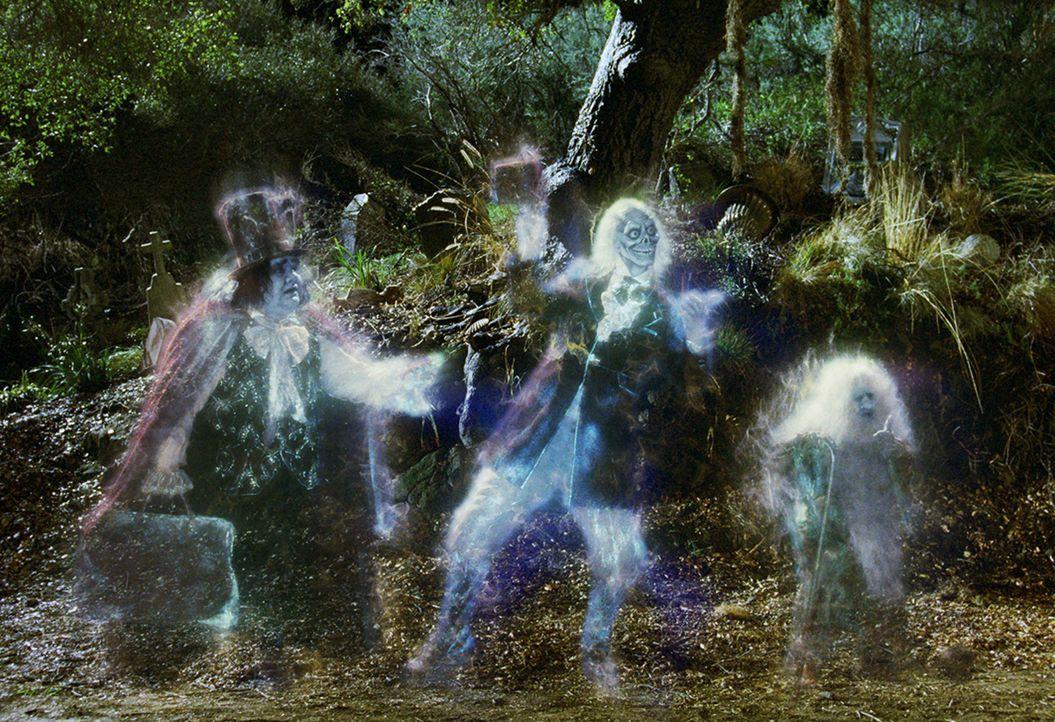 """In """"Gracey Villa"""" wohnen 999 Geister, denen Jims Pläne überhaupt nicht gefallen ... - Bildquelle: Buena Vista Pictures Distribution"""