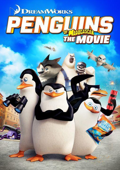 Penguins of Madagascar - Plakatmotiv - Bildquelle: 2014 DreamWorks Animation, L.L.C.  All rights reserved.