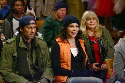 Zur Freude aller (v.l.n.r.: Scott Patterson, Lauren Graham) ist Taylor nicht...